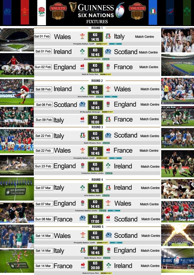 Fixtures 2020